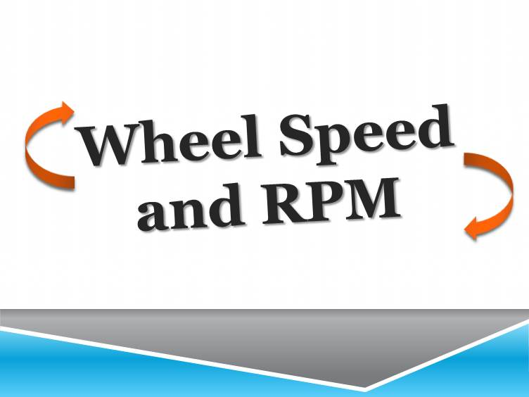 Wheel Speed and RPM